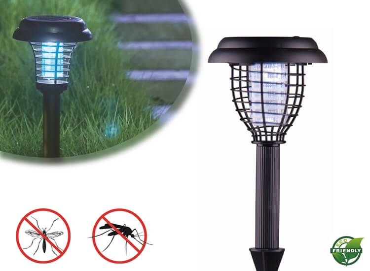 Green arrow tuinlamp 2-in-1 Fungeert als lamp en als insectenverdelger