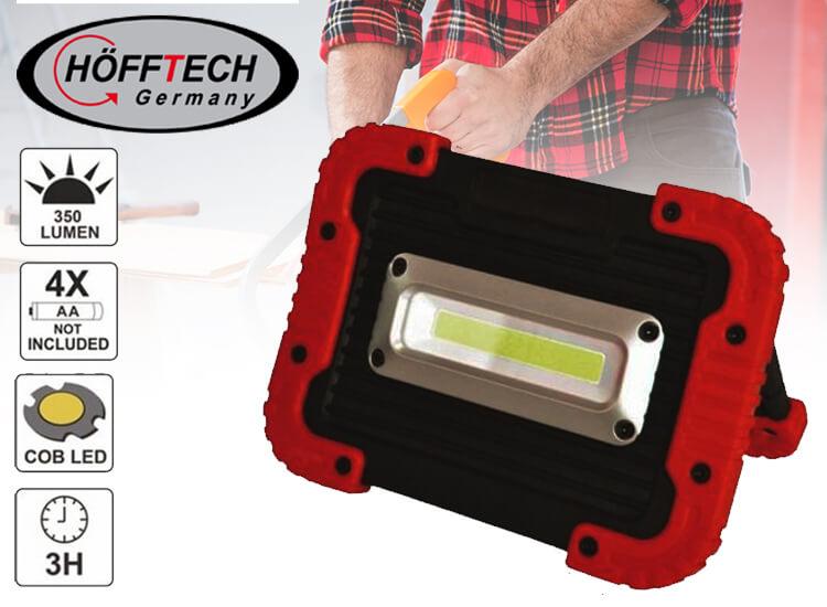 Robuuste Draadloze Werklamp Met Krachtige COB LED's