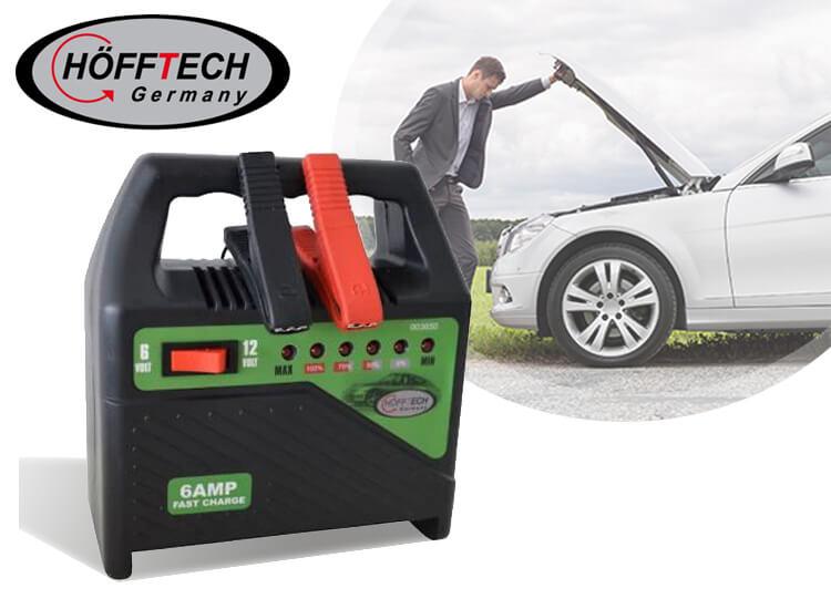 Hofftech Acculader 6 Amp 220V