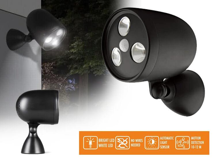 LED Lovers Brighton - led buitenlamp met nacht- en bewegingssensor