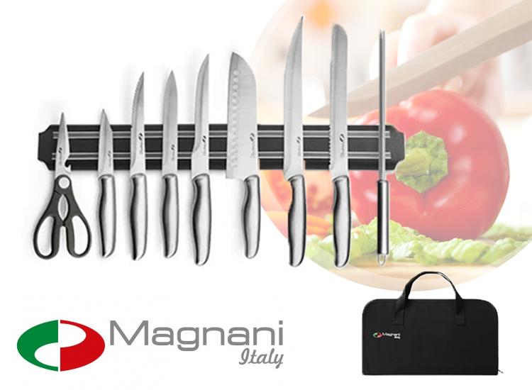 Magnani 9-Delige Messenset RVS IJzersterke Messen Voor Jarenlang Kookplezier