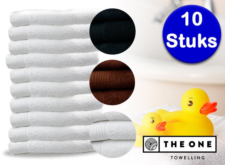 The One Towelling� handdoeken - 10 stuks - Prachtige kwaliteit