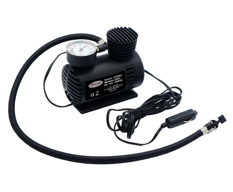 Hofftech Compacte Luchtcompressor - Ideaal Voor Banden En Opblaasartikelen