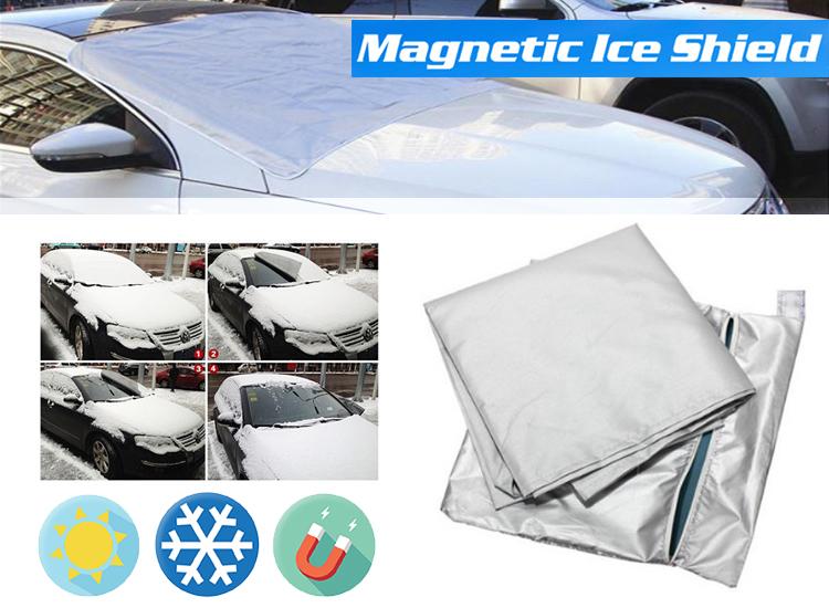 Afbeelding van Benson Magnetische Voorruit Cover - tegen zon en sneeuw - 158 x 96 cm