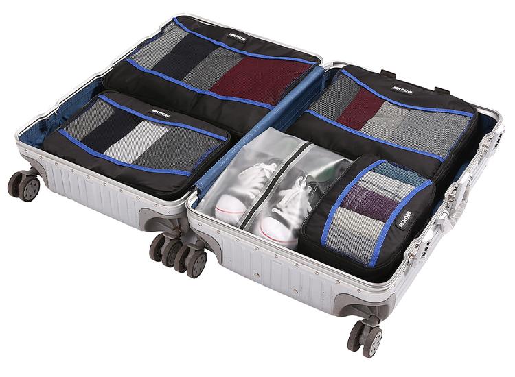 Packing Cubes - Voor een georganiseerde koffer - Luchtdicht -5 stuks