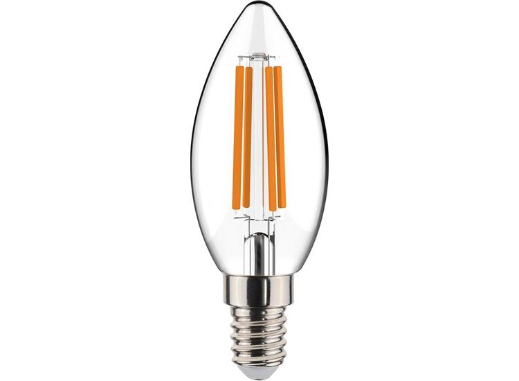 LED's Light E14 lamp - C35 Filament 4W - 3-staps dimbaar