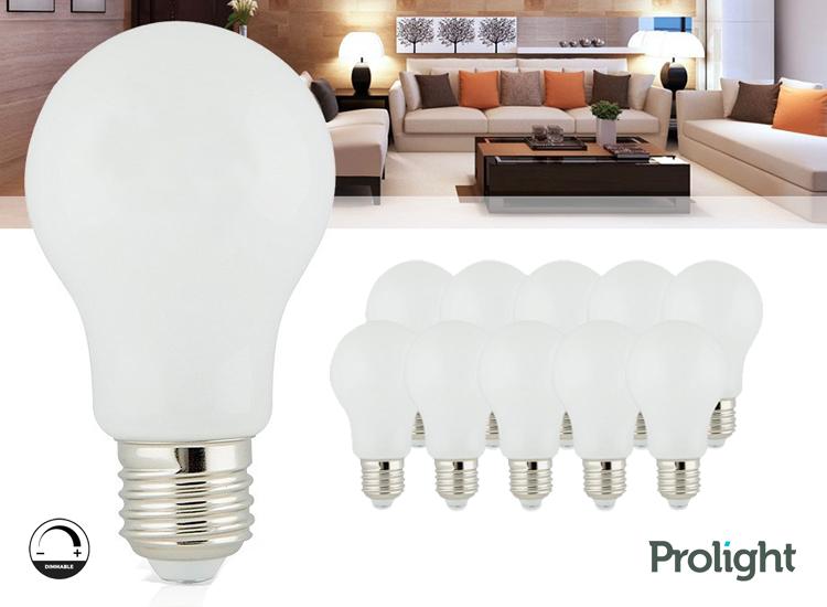 Prolight Classic led E27 lampen - dimbaar - 10 stuks