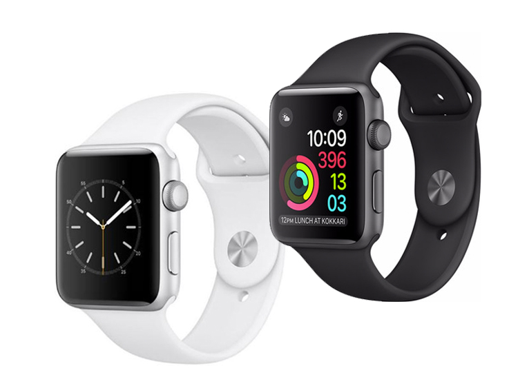 Afbeelding van Apple Watch Series 1 - Space grey - 42 mm (refurbished)