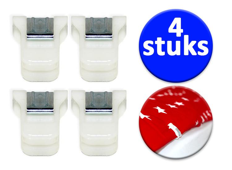 Dagaanbieding - Set van 4 Dekbedclips dagelijkse koopjes