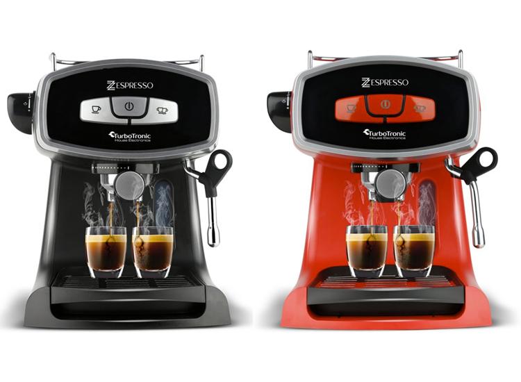 Afbeelding van TurboTronic TT-CM19 Koffiemachine - Rood of Zwart