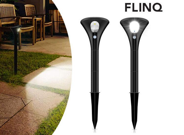 FlinQ Solar Lampen Spike - 2-Pack