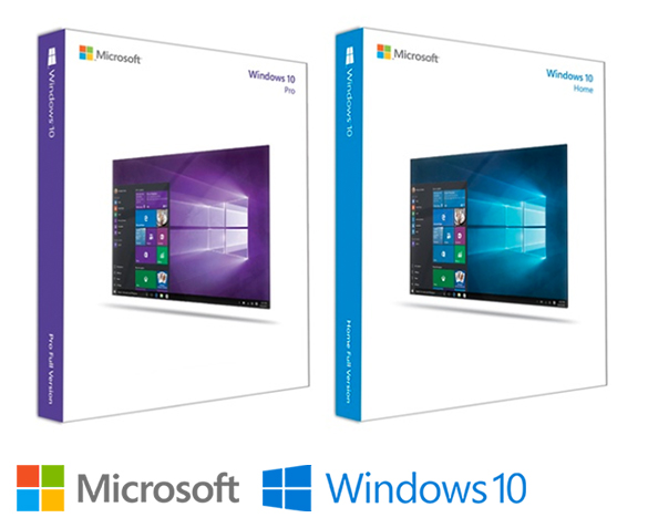 Microsoft Windows 10 - Home of Professional