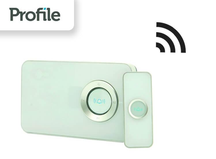 Profile draagbare MP3 deurbel Cambiare draadloos 100 meter 32