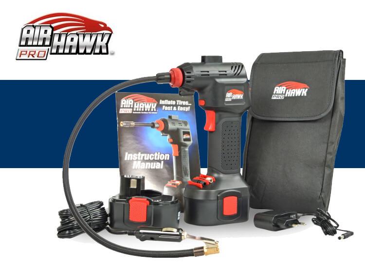 Air hawk compressor - Luchtcompressor voor autobanden, luchtbedden en ballen op Dealdonkey.com