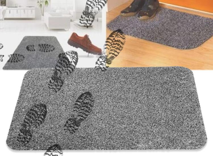 Anti-slip schoonloopmat - 70 x 46 cm - Vuil en vocht absorberende droogloopmat