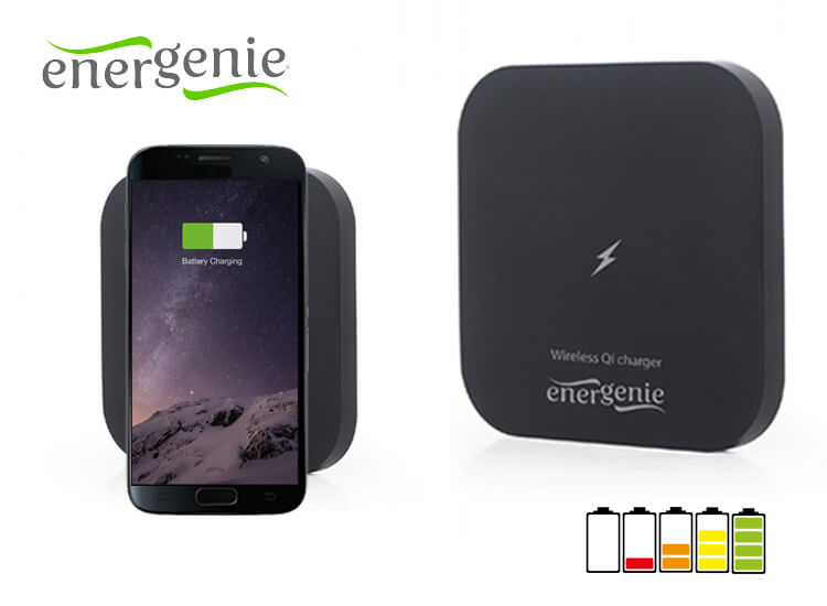 Energenie Draadloze Qi-oplader voor je Smartphone