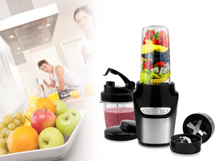 M-Line by Enrico Nutrition Extractor - Blender op Dealdonkey.com