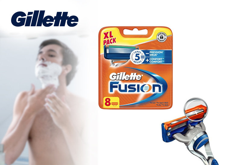 Gillette Fushion Scheermesjes - 8 pack