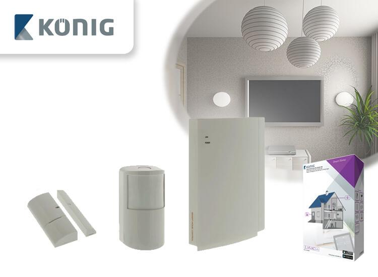 Smart home starter beveiligingsset