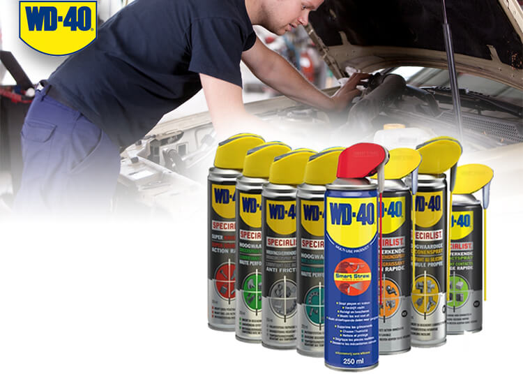 WD40 professional 8-pack